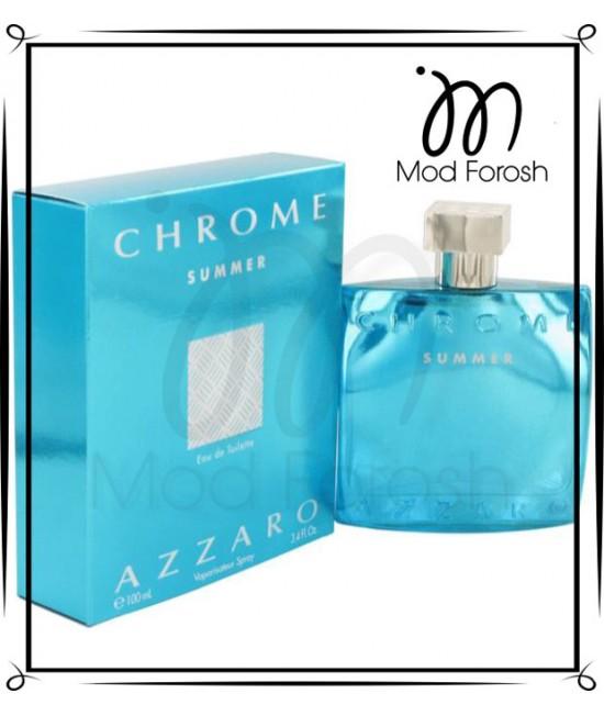 عطر مردانه اورجینال Azzaro Chrome Summer