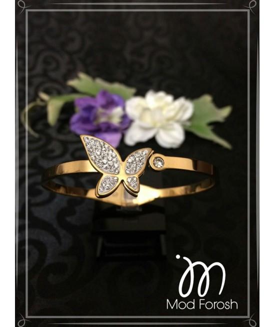 دستبند استیل پروانه Sl27