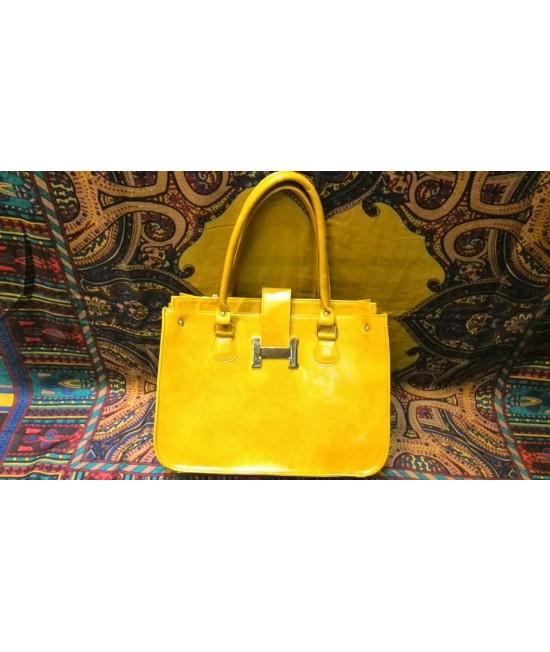 کیف چرم اوریال hermes