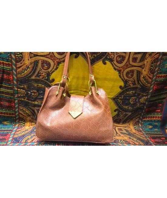 کیف تمام چرم پیتون4