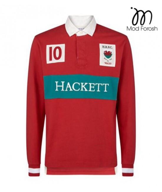 پولوشرت آستین بلند اورجینال Hackett 13
