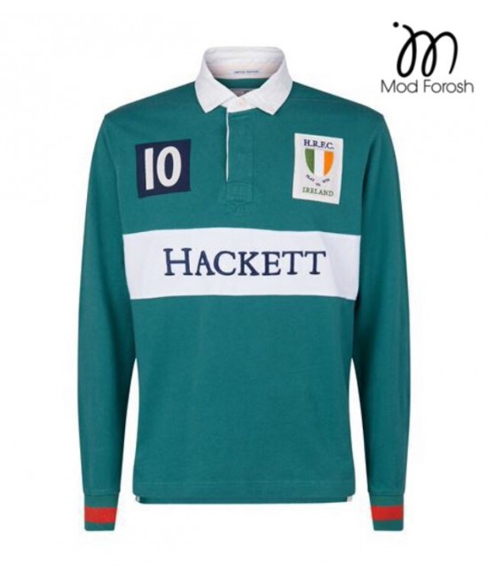 پولوشرت آستین بلند اورجینال Hackett 15